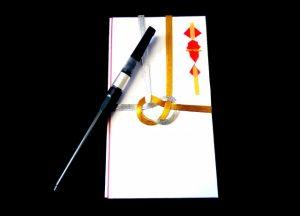 初穂料を神前式の結婚式で出す時ののし袋の種類と書き方と納め方